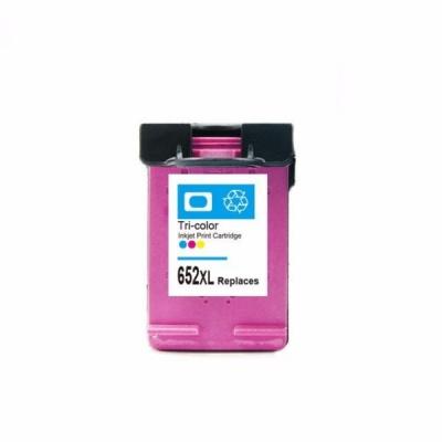 HP 652 XL F6V24AE color cartus compatibil