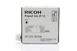 Ricoh cartus original JP 12, black, 600ml, 817104, Ricoh DX3240, 3440, JP1210, 1215, 1250, 1255, 3000