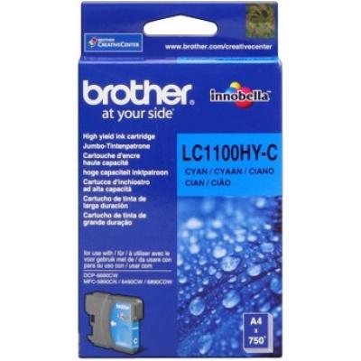 Brother LC-1100HYC azuriu (cyan) cartus original