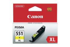Canon CLI-551XLY galben (yellow) cartus original
