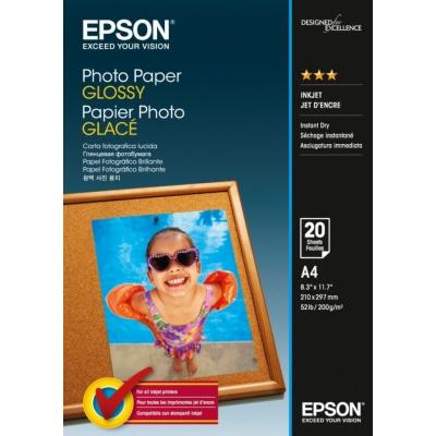 Epson S042538 Photo Paper, lucios alb hartie foto, A4, 200 g/m2, 20 buc