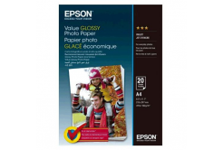 Epson S400035 Value Glossy Photo Paper, alb lucios hartie foto, A4, 200 g/m2, 20 buc