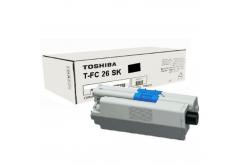 Toshiba TFC26SK, 6B000000559 negru (black) toner original