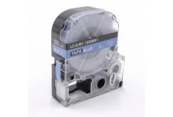 Epson LC-SD6BW, 6mm x 8m, text alb / fundal albastru, banda compatibila