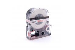 Epson LC-SS6RW, 6mm x 8m, text rosu / fundal alb, banda compatibila