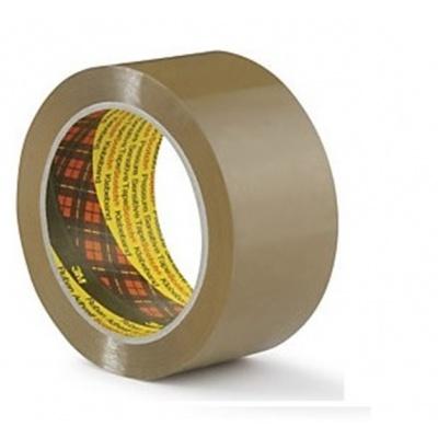 3M 309 bandă de ambalare fără zgomot, 50 mm x 66 m, maro