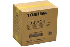 Toshiba toner rezidual compatibil TB-281c, e-Studio 281c, 351c, 451c