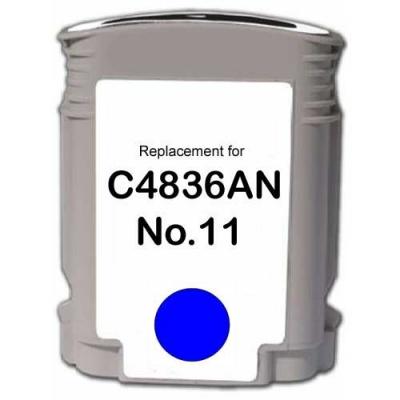 HP 11 C4836A azuriu (cyan) cartus compatibil