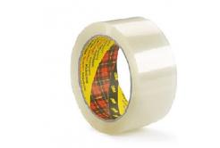 3M 309 bandă de ambalare fără zgomot, 50 mm x 66 m, transparent