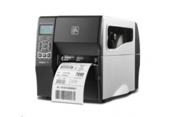 Zebra ZT230 ZT23043-T1E200FZ imprimante de etichetat, 12 dots/mm (300 dpi), peeler, display, ZPLII, USB, RS232, Ethernet