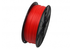 Gembird 3D filament ABS, 1,75mm, 1kg, fluorescenta, rosu