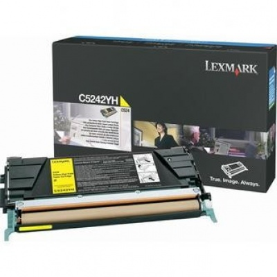 Lexmark C5242YH galben (yellow) toner original