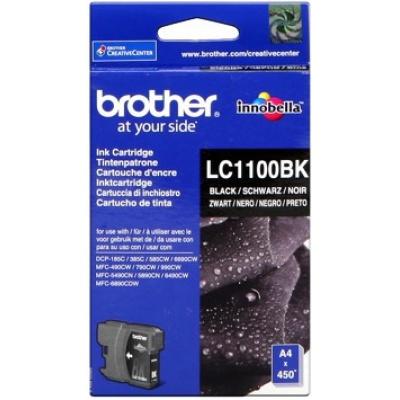 Brother LC-1100BK černá originální cartridge, prošlá expirace