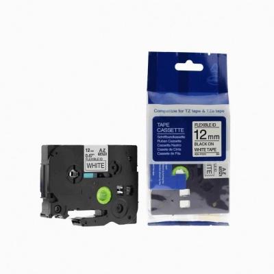 Banda compatibila Brother TZ-FX231 / TZe-FX231, 12mm x 8m, flexi, text negru / fundal alb