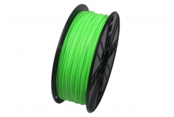 Gembird 3D filament ABS, 1,75mm, 1kg, fluorescenta, verde