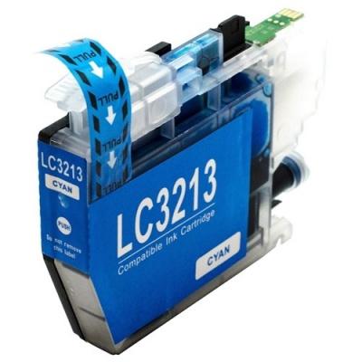Brother LC-3213 azuriu (cyan) cartus compatibil