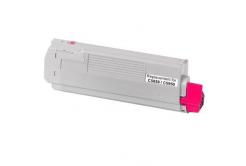 OKI 43865722 purpuriu (magenta) toner compatibil
