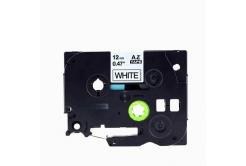Brother TZe-V231, 12mm x 5,5m, text negru / fundal alb, vinyl, banda compatibila