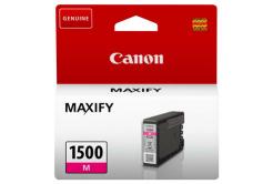 Canon cartus original PGI-1500 M, magenta, 300 pagini, 4.5ml, 9230B001, Canon MAXIFY MB2050,MB2150,MB2155,MB2350,MB2750,MB2755