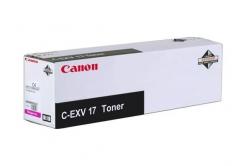 Canon C-EXV17 purpuriu (magenta) toner original