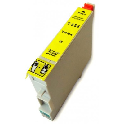 Epson T0554 galben (yellow) cartus compatibil