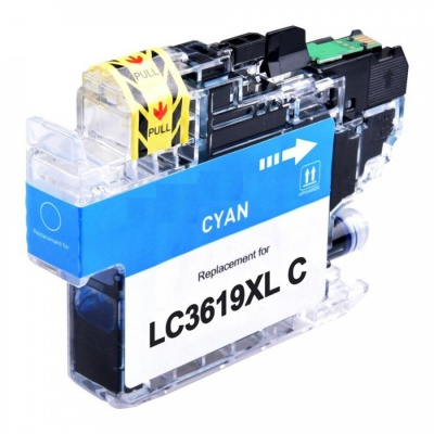 Brother LC-3619XL azuriu (cyan) cartus compatibil