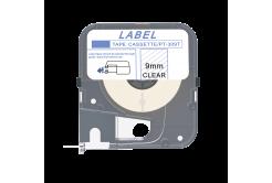 Max LM-309T, 9mm x 8m, průhledná kompatibilní páska