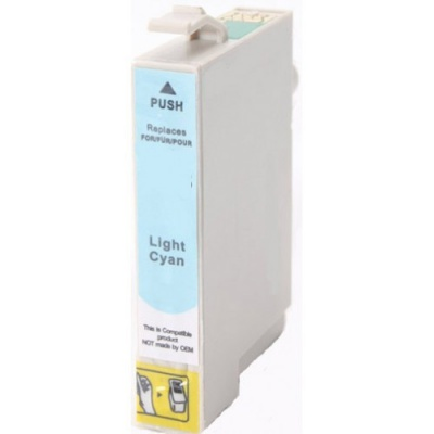 Epson T0805 azuriu deschis (light cyan) cartus compatibil