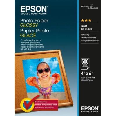 Epson S042549 Photo Paper alb lucios hartie foto 10x15cm 200 g/m2 500 buc