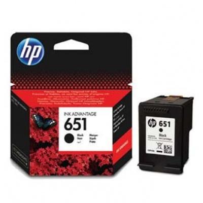 HP 651 C2P10AE negru (black) cartus original