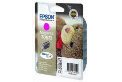 Epson T0613 purpuriu (magenta) cartus original