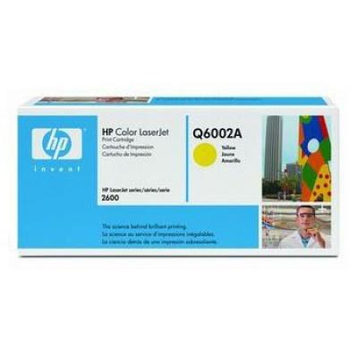 HP 124A Q6002A galben (yellow) toner original