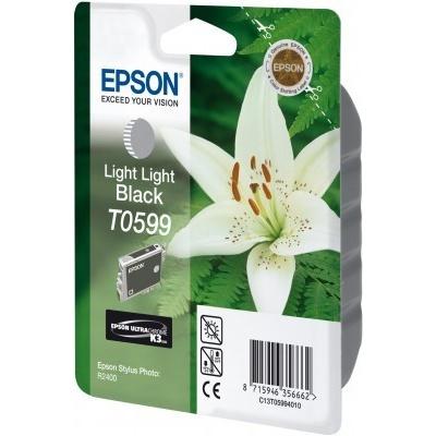 Epson C13T059940 deschis negru (light black) cartus original