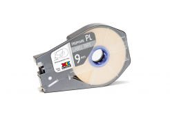 Partex PROMARK-PL090CN9, alb banda adeziva, 9mm, 30m