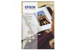 Epson S042153 Premium Glossy Photo Paper, hartie foto, lucios, alb, 10x15cm, 255 g/m2, 40 buc