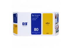 HP 80 C4848A galben (yellow) cartus original