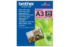 Brother BP60MA3 Photo mat Paper, hartie foto, mat, alb, A3, 145 g/m2, 25 buc
