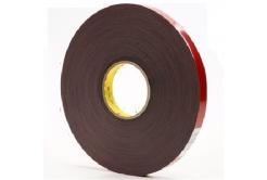 3M VHB 4611-F, 19 mm x 3 m, gri dublă faţă-verso bandă adezivă acrilică, 1,1 mm