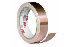 3M 1181 Banda adeziva de cupru, 19 mm x 16,5 m