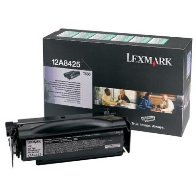 Lexmark 12A8425 negru (black) toner original