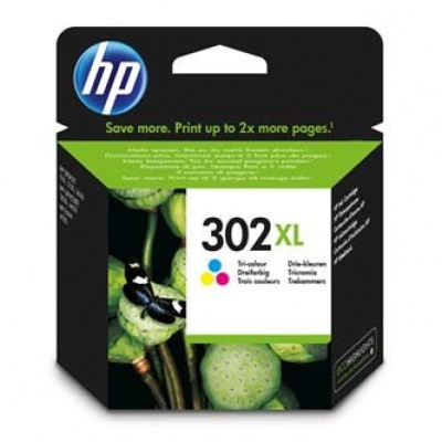 HP 302XL F6U67AE color cartus original