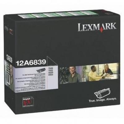 Lexmark 12A6839 negru (black) toner original