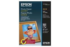 Epson S042545 Glossy Photo Paper, hartie foto, lucios, alb, 13x18cm, 200 g/m2, 50 buc