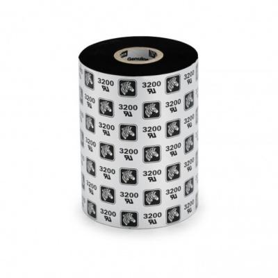Zebra 02300BK11030 ZipShip 2300, thermal transfer ribbon, wax, 110mm