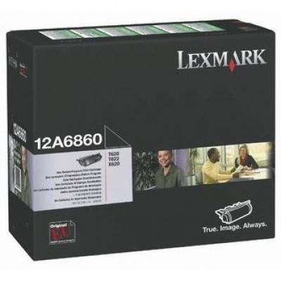 Lexmark 12A6860 negru (black) toner original