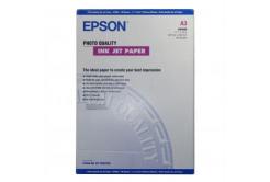Epson S041068 Photo Quality InkJet Paper, hartie foto, mat, alb, A3, 105 g/m2, 720dpi, 100 buc