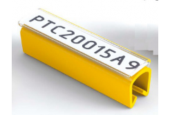 Partex PTC50015A4, galben, 100 buc., (6,0-7,2mm), PTC husa acoperitoare pentru etichete