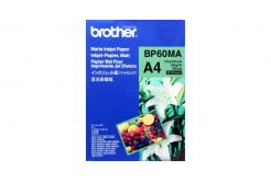 Brother BP60MA mate Inkjet Paper, hartie foto, mat, alb, A4, 145 g/m2, 25 buc, imprimarea cu jet de cerneală