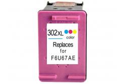 HP 302XL F6U67AE color cartus compatibil