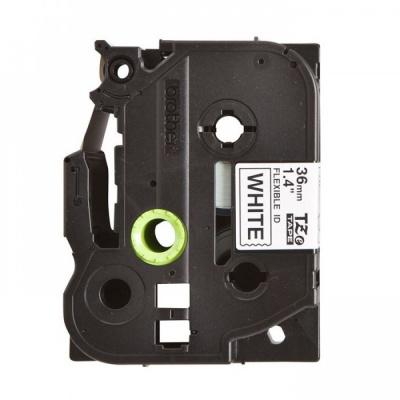 Banda compatibila Brother TZ-FX261 / TZe-FX261, 36mm x 8m, flexi, text negru / fundal alb